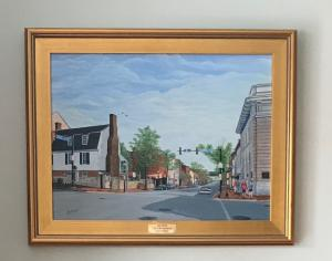 Limited Edition Giclee of King Street Old Town Alexandria