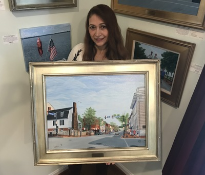 First Place Award Winning Art At The 2020 Art Walk - Great News For Art Collectors Who Own Art By Aicy Karbstein
